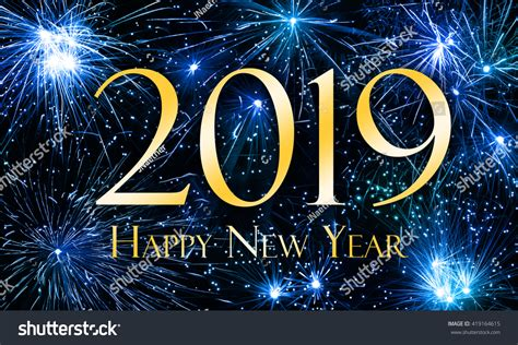 new year 2019 happy new year 2019 stock illustration 419164615