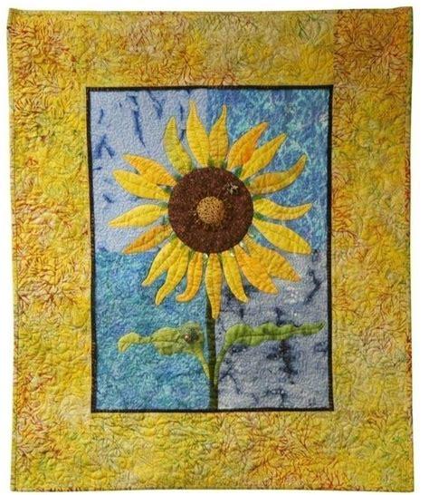 sunflower instant quilt pattern