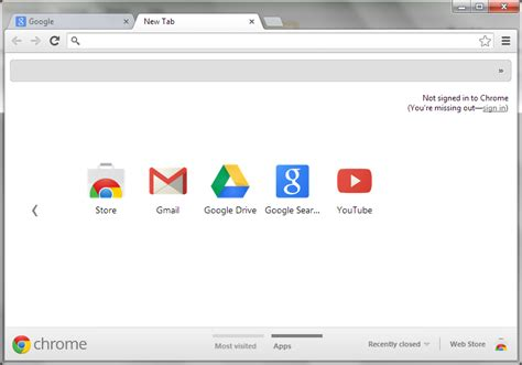 chrome tab image gallery new tab