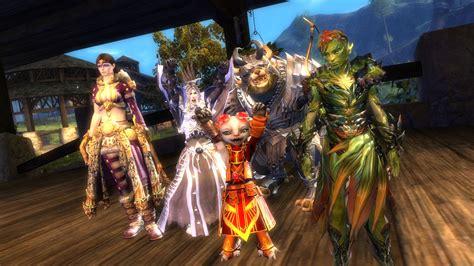 Guild Wars 2 introducing the megaserver system guildwars2