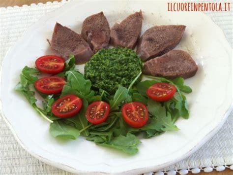 lingua di vitello come si cucina lingua di vitello con salsa verde ricette di cucina il