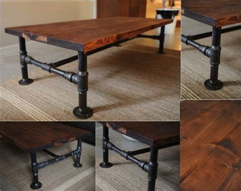 diy industrial pipe coffee table do it yourself ideas