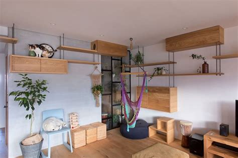Kratzbaum Design Wohnung by Cat Friendly Apartment In Japan Remodeled For Family S