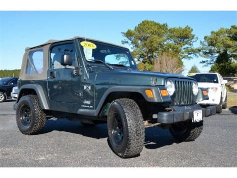 2003 jeep wrangler specs 2003 jeep wrangler x 4x4 data info and specs gtcarlot