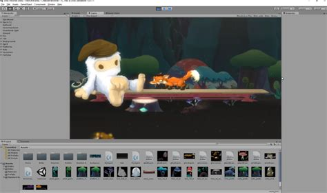 tutorial unity sidescroller unity runtimes creature