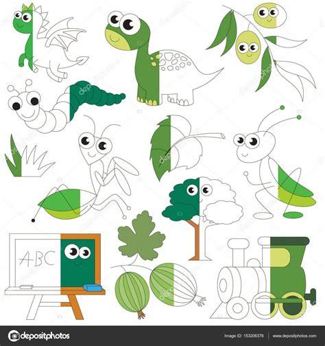 imagenes verdes para recortar objetos de color verde el juego de ni 241 os grandes a ser