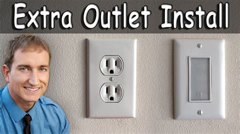 how to install an electrical outlet and outlet