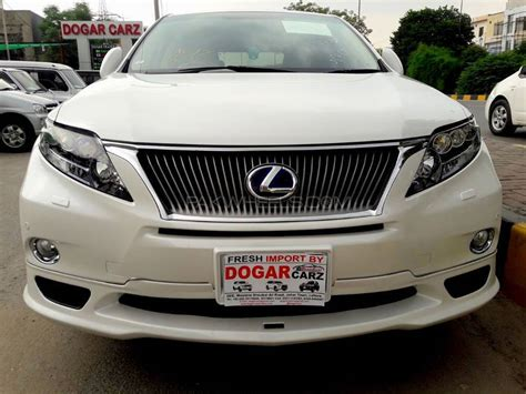 lexus pakistan lexus rx series 450h 2011 for sale in lahore pakwheels