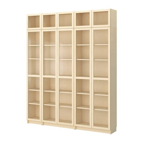 Home Ikea Ikea Billy Bookcase With Glass Doors