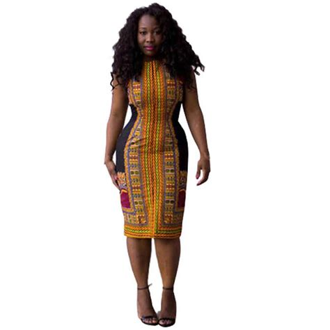 ghanaian ladies straight dress online get cheap african print dress styles aliexpress
