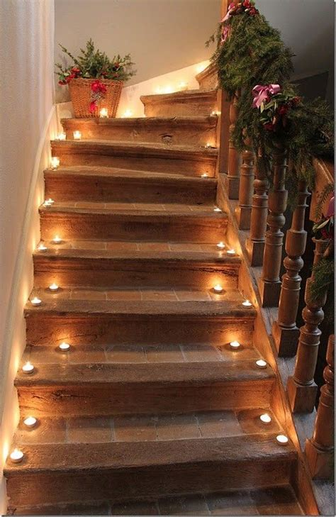 como decorar escadas  ocasioes especiais  ideias