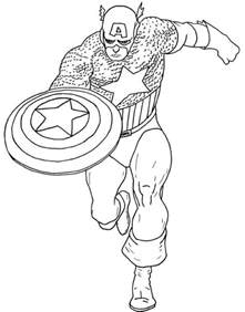 america coloring pages get this captain america coloring pages marvel