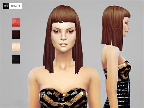sims 4 popular custom content hair sims 4 custom hair hairstyle gallery