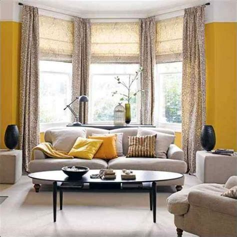 Curtains For Bay Windows Living Room by 20 Beautiful Living Room Designs With Bay Windows