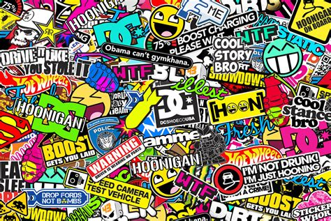Hoonigan Sticker Bombing By Bora888 On Deviantart