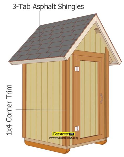 Small Shed Plans by 31 Diy Storage Sheds And Plans To Make This Weekend Diy
