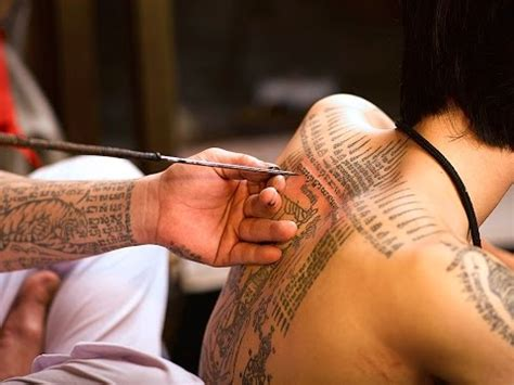 how to tattoo videos how a may change your thai magic tattoos