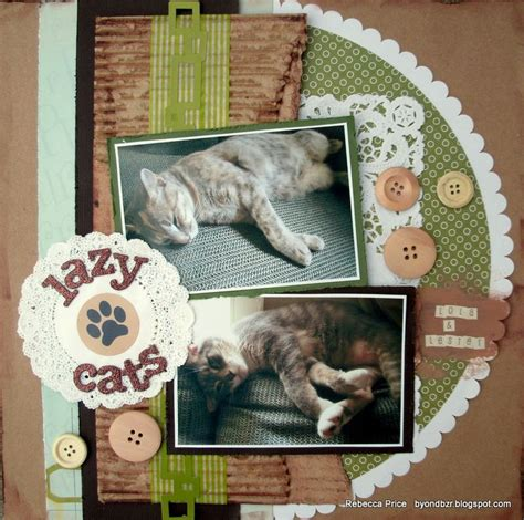 scrapbook layout cat 1000 images about animal pets scrapbook layouts on