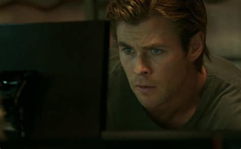 film hacker blackhat chris hemsworth plays the world s sexiest computer hacker