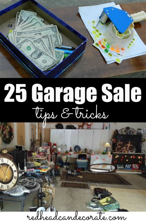 Garage Sale Tips And Tricks by 25 Garage Sale Tips At The Picket Fence