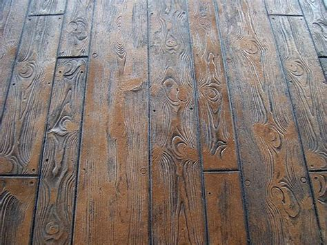 Wood Plank Concrete Stamps