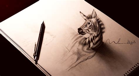 How To Make 3d Pictures On Paper - fabulous 3d drawing on paper