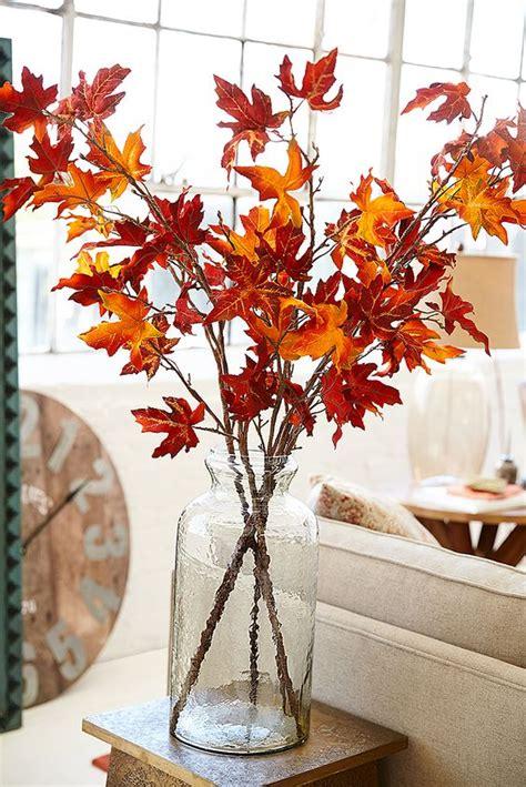 casa di fiori decorare casa con un vaso autunnale 15 idee creative per