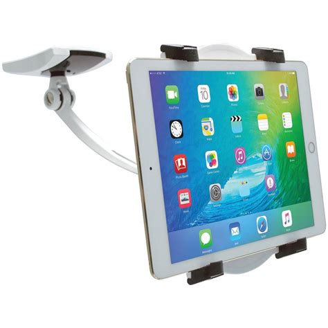 under cabinet ipad mount cta ipad tablet wall under cabinet and desk mount with 2