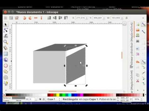 inkscape tutorial 3d box how to create a 3d cube using inkscape youtube