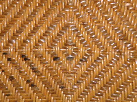 Woven Leather Rugs Woven Straw With Diamond Pattern Texture Picture Free