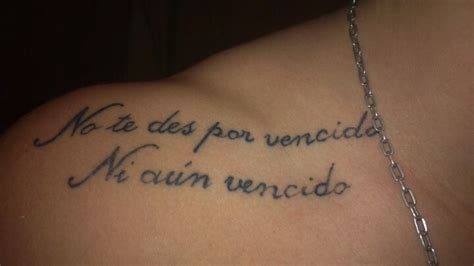 spanish tattoos strongness