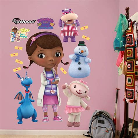 doc mcstuffins collection wall decal shop fathead 174 for