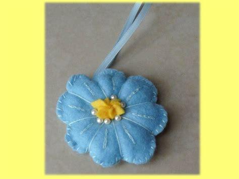 fiore pannolenci portachiavi fiore pannolenci donna accessori di