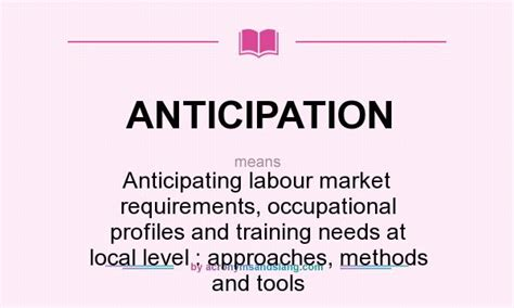 what does anticipation definition of anticipation