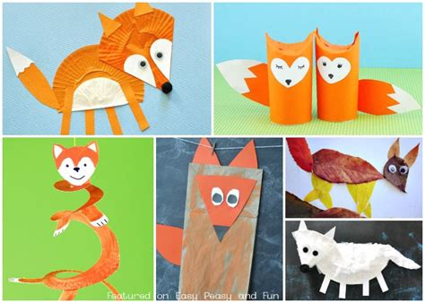 Fox Crafts For Easy Peasy And