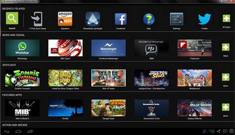 emulator android best android emulators for pc windows and mac os
