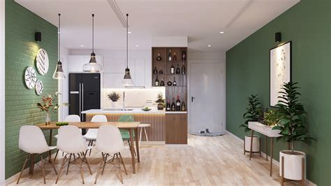 Modern Scandinavian Home Concept Design Suitable For