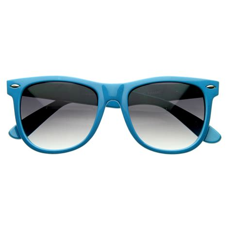 colorful sunglasses classic 1980s original large colorful wayfarer sunglasses