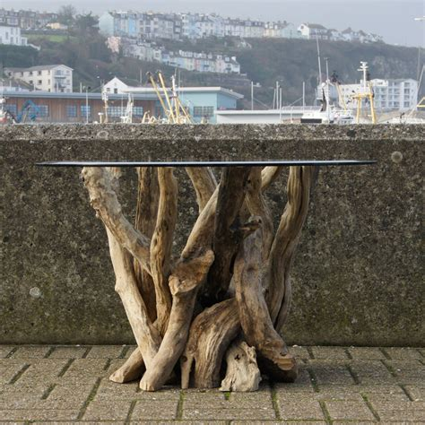 driftwood coffee table with glass top driftwood coffee table with glass top hcm by doris brixham