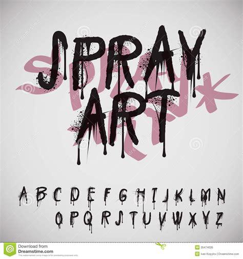 graffiti spray paint font free graffiti splash alphabet royalty free stock photo image
