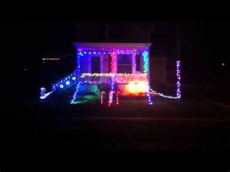 mr christmas light show youtube