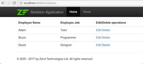 zend framework format date mysql zend framework working exle