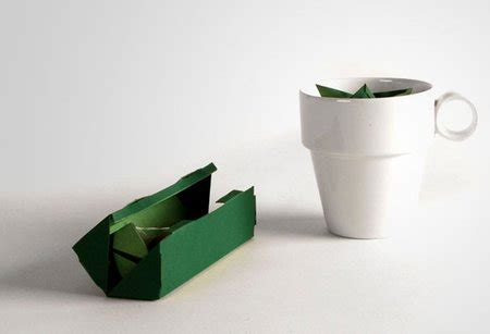 Origami Tea Bags - the top 70 innovative and original packaging designs
