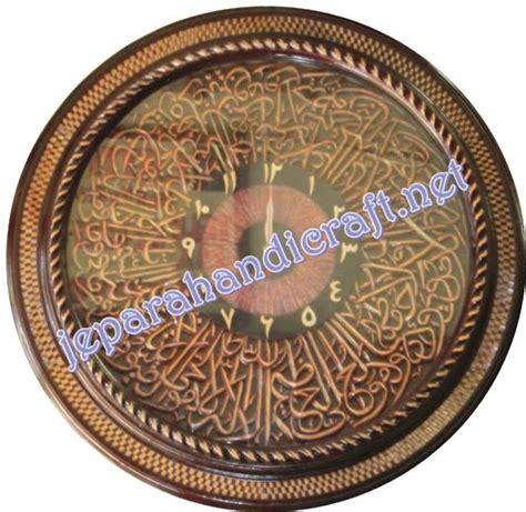 Jam Dinding Kaligrafi Ayat Kursi pengumuman jual jam kaligrafi ukiran ayat kursi loster