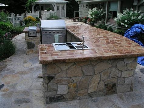 outdoor bbq islands for your backyard home design ideas