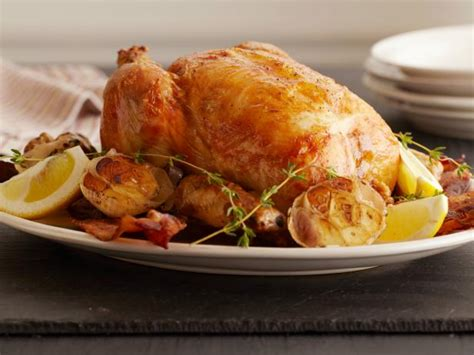 ina garten roast chicken lemon and garlic roast chicken recipe ina garten food