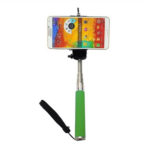 Monopod Selfie monopod selfie stick 1m for cellphone apple iphone multi colors althemax