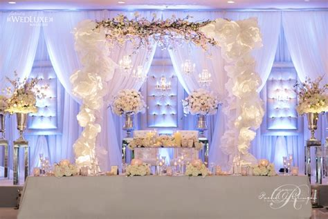 wedding backdrop with crystals helen and fonda s gorgeous wedding at the