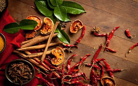 Herbs and Spices Full HD Wallpaper and Background Image