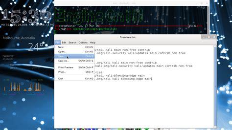 tutorial carding dengan kali linux cara mengganti repository di kali linux